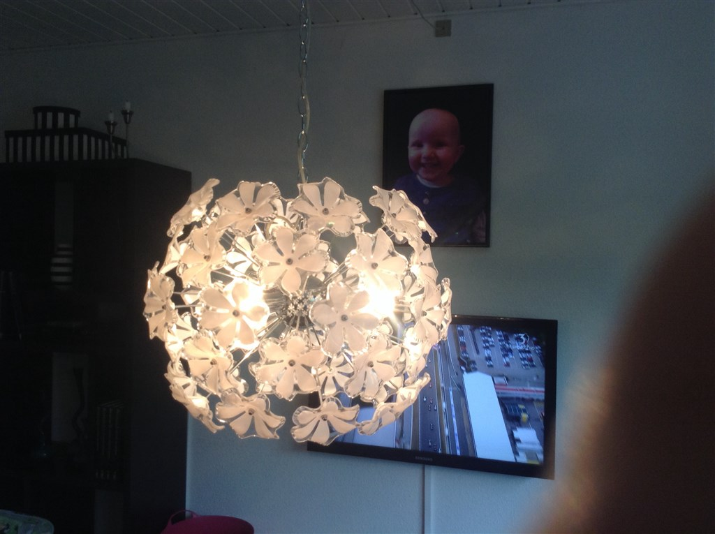 Lampe Over Sofabordet