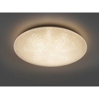 LED Deckenleuchte rund Thar 27 W, Weiß, Ø x H 60 x 12 cm ...
