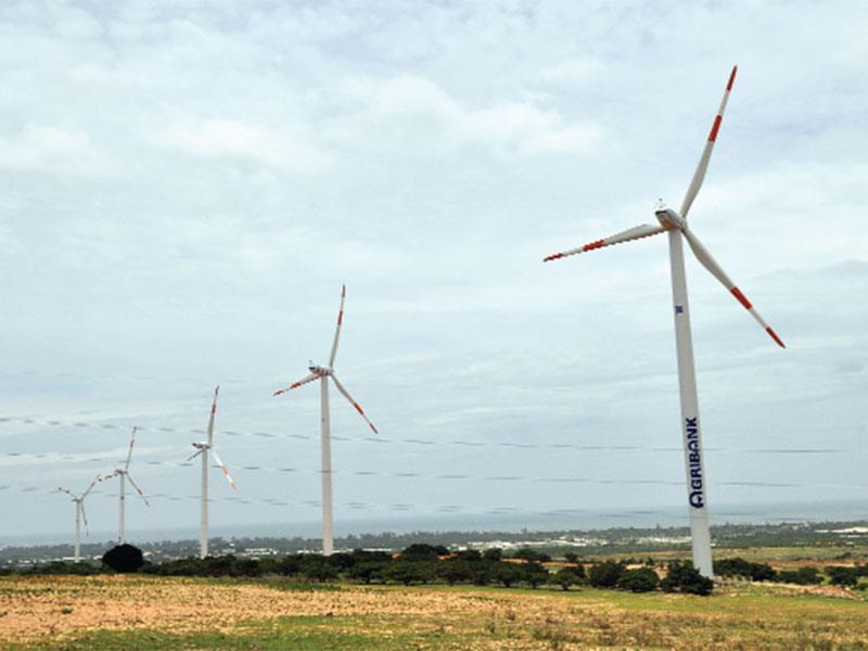 Phần lớn các Dự án điện gió ở Ninh Thuận đều thuộc diện chậm tiến độ, nhiều lần bị lãnh đạo tỉnh thúc giục. Ảnh: Đức Thanh
