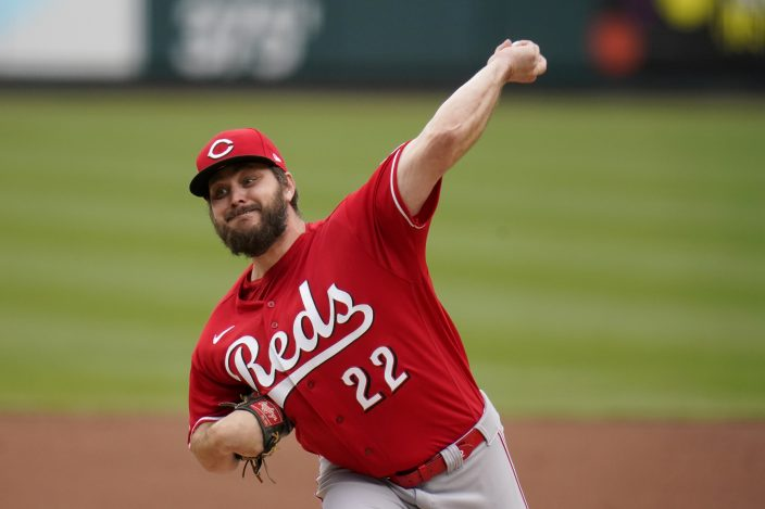 Gant sharp for 6 innings, Cards send Reds to 6th loss in ...
