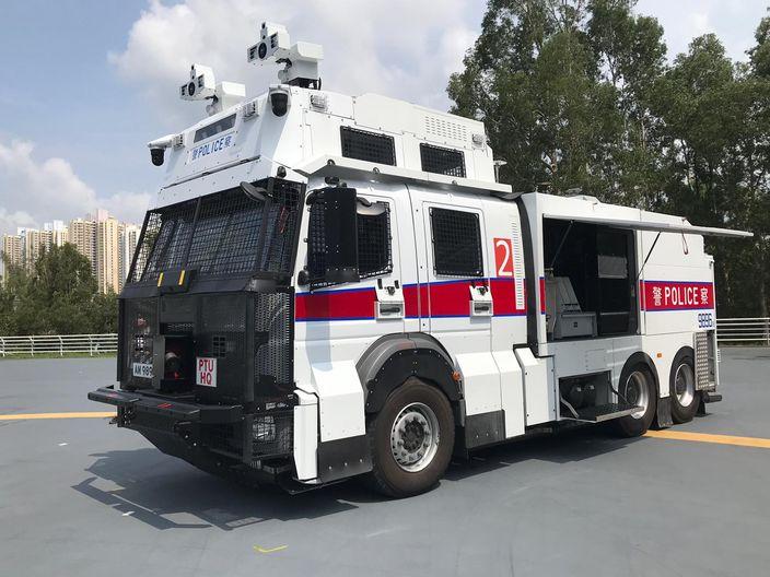 議員緊張「水炮車」幾時出動 警:大騷動大威脅時 | 政事 | 巴士的報