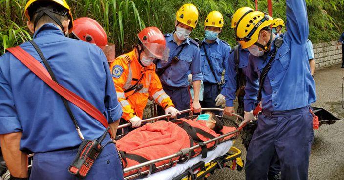 女子雷暴警告下將軍澳上山晨運 疑被雷擊中送院   香港事