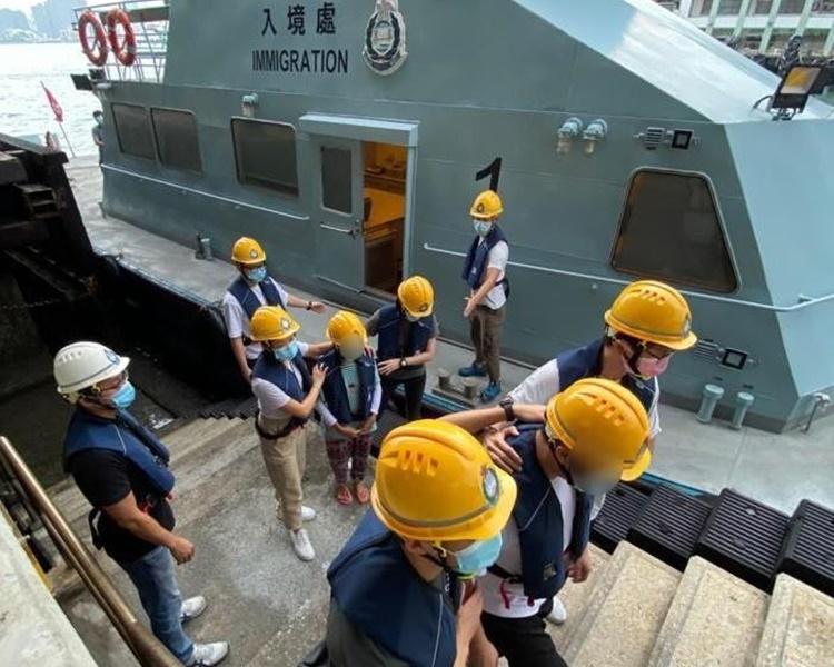 入境處「曙光行動」反非法勞工 共拘9人 | 香港事