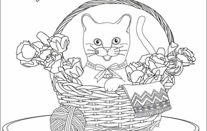 målarbilder, målarbild, gratis målarbilder, gratis målarbild, målarbok, målarböcker, målarbok för vuxna, målarböcker för vuxna, zentangle, mandala, mindfulness, måla, färglägga, mindfullness, doodle, bättre hälsa, bra hälsa, djur, katt, katt i korg, blommor, inredning, hem, hus