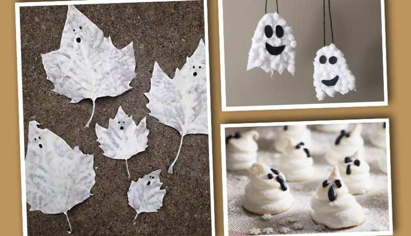 pyssel, pysseltips, pysselidé, barnpyssel, pyssel för barn, halloween, halloweenpyssel, skapa, spöken, halloweenspöken
