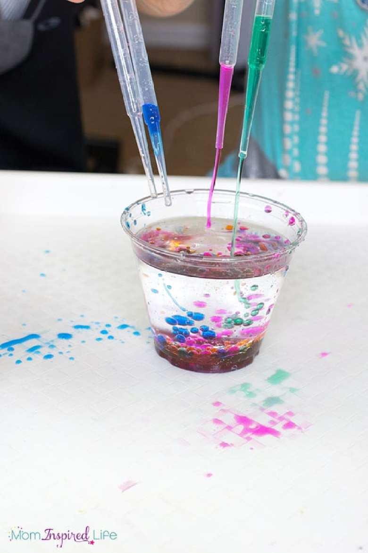 experiment för barn, naturvetenskap för barn