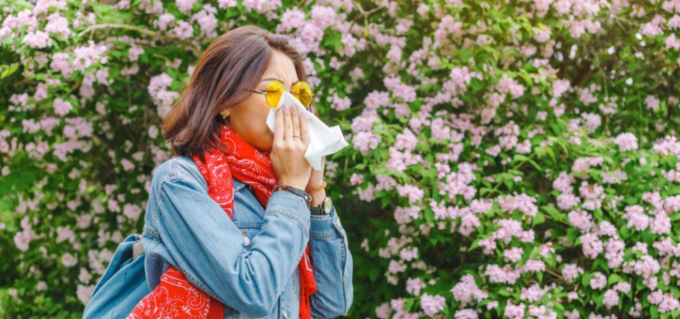 allergisk reaktion i kroppen