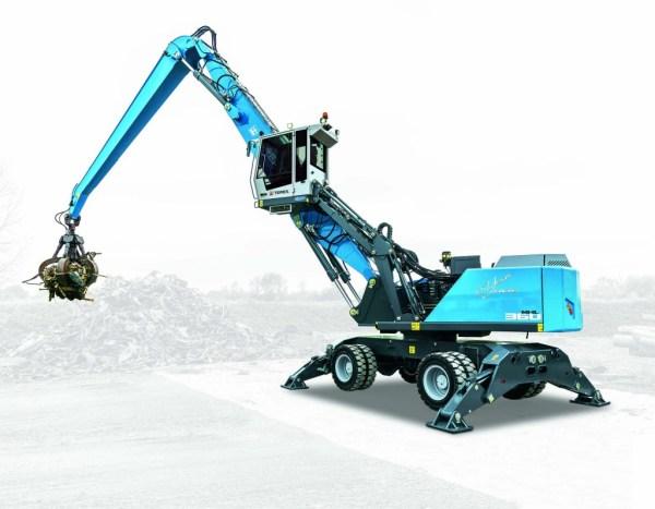 Terex Fuchs RHL350 F material handler features new upper ...