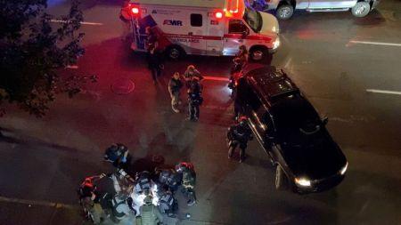 One Shot Dead as Rival Protesters Clash in Portland