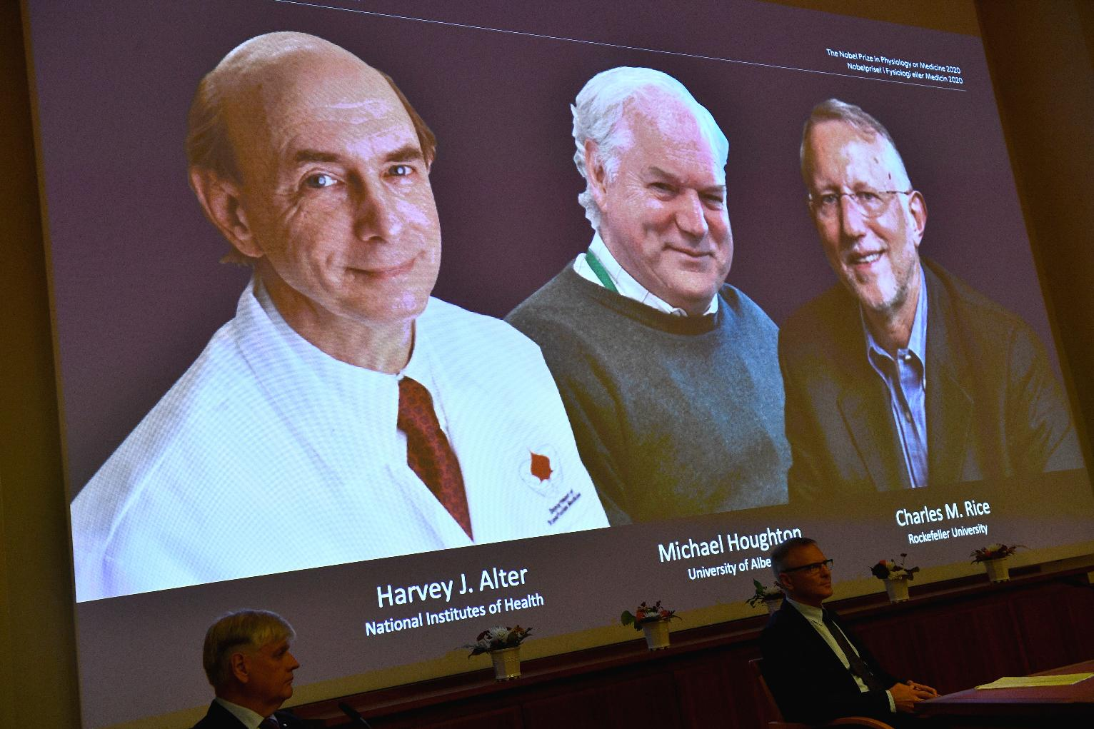 Penghargaan Nobel bidang Kedokteran tahun 2020