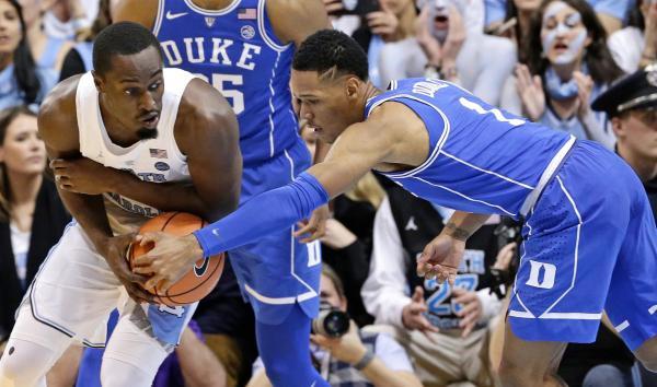 No. 21 North Carolina Beats No. 9 Duke 82-78 in Rivalry ...