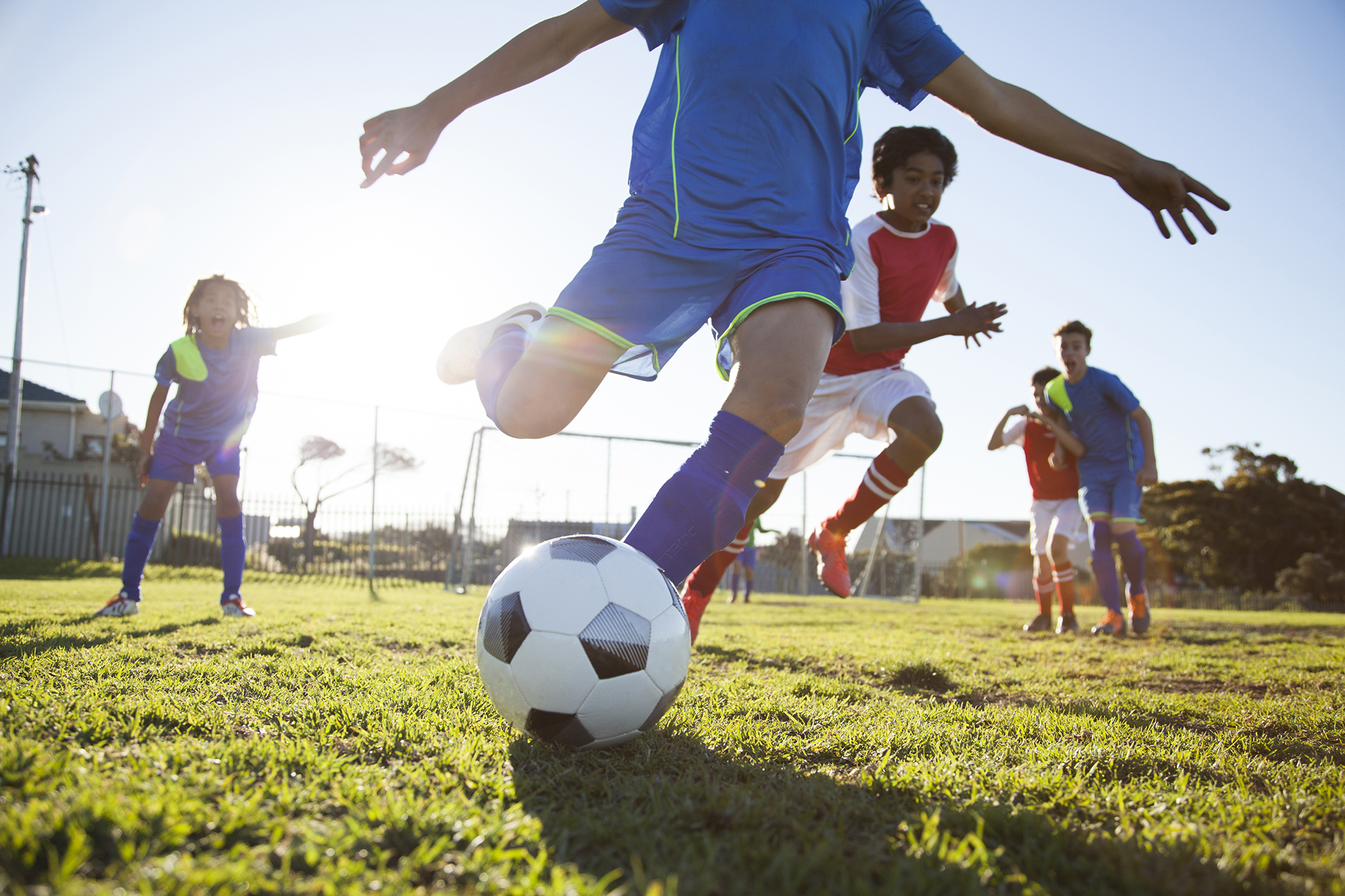 Why Playing Team Sports Is Good For Kids With Adhd