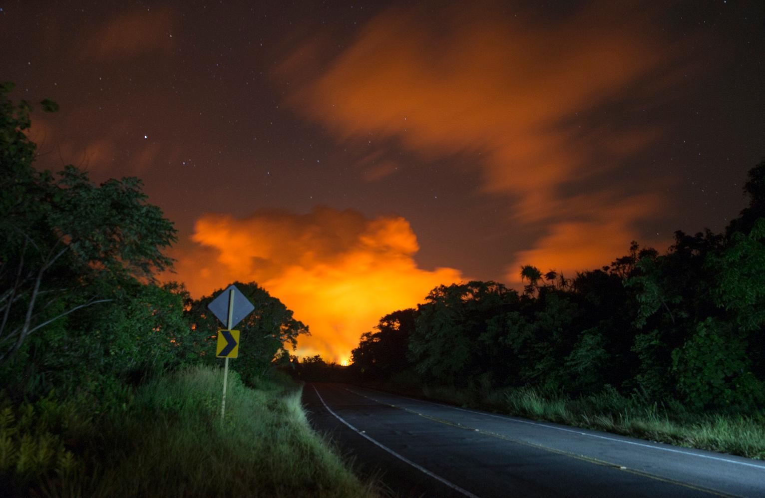 It Smelled Like Sulfur Ash Falls Near Hawaii Volcano