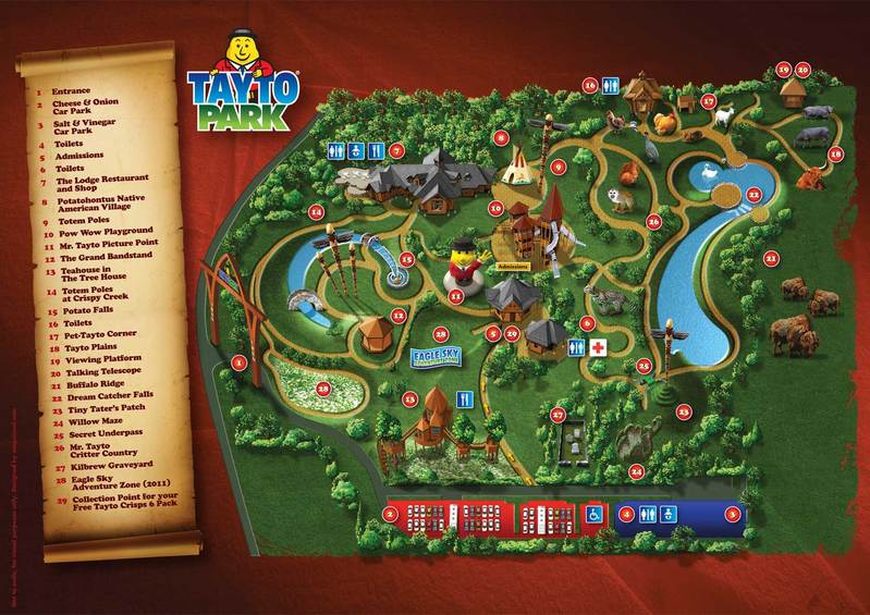 Tayto Park: crisp boot camp we welcome you! Our arteries ...