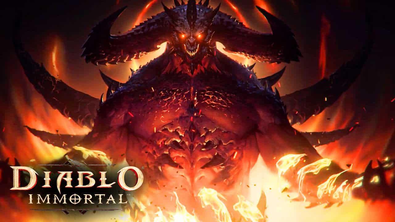 Blizzard Diablo Immortal Nest Pas Une Copie DEndless