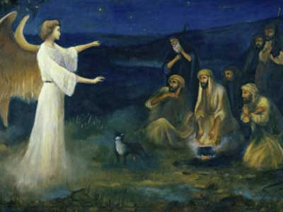 Heralding The Christmas Angels What Did The Shepherds