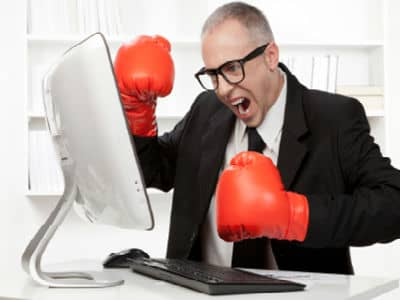 Image result for angry blogger