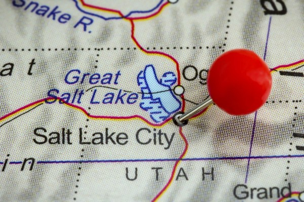 Utah? Yes. (Photo: Getty)  5 best and worst states to grow old salt lake city utah map getty