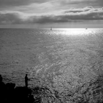 Les pécheurs et la mer