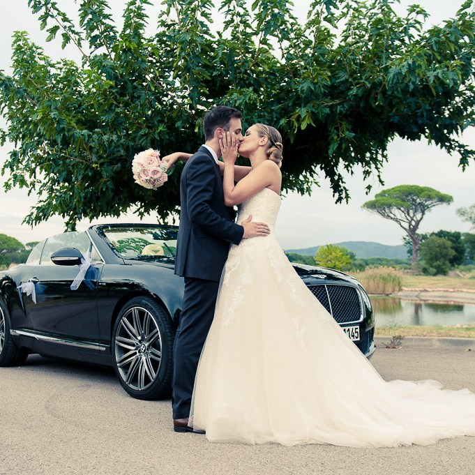 Le baiser des mariés