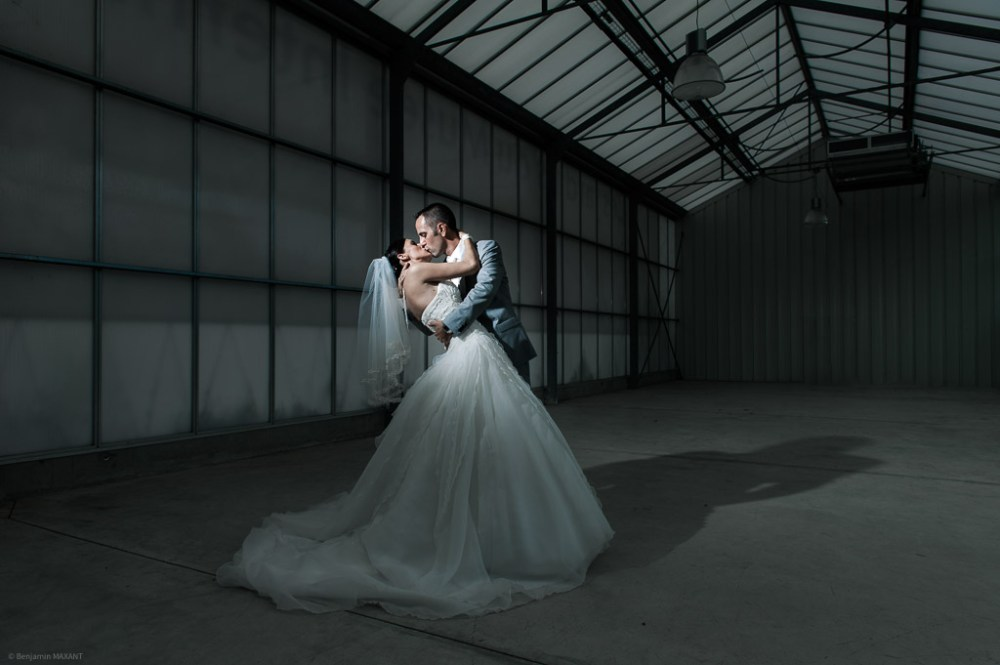 Wedding artistic photo