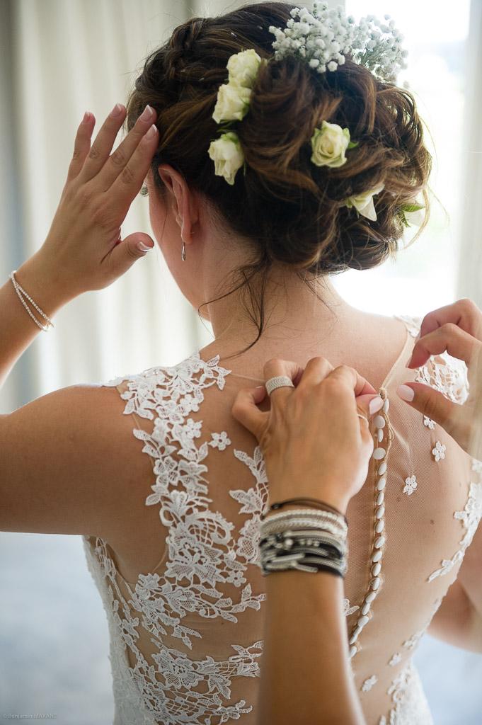 La préparation de la mariée