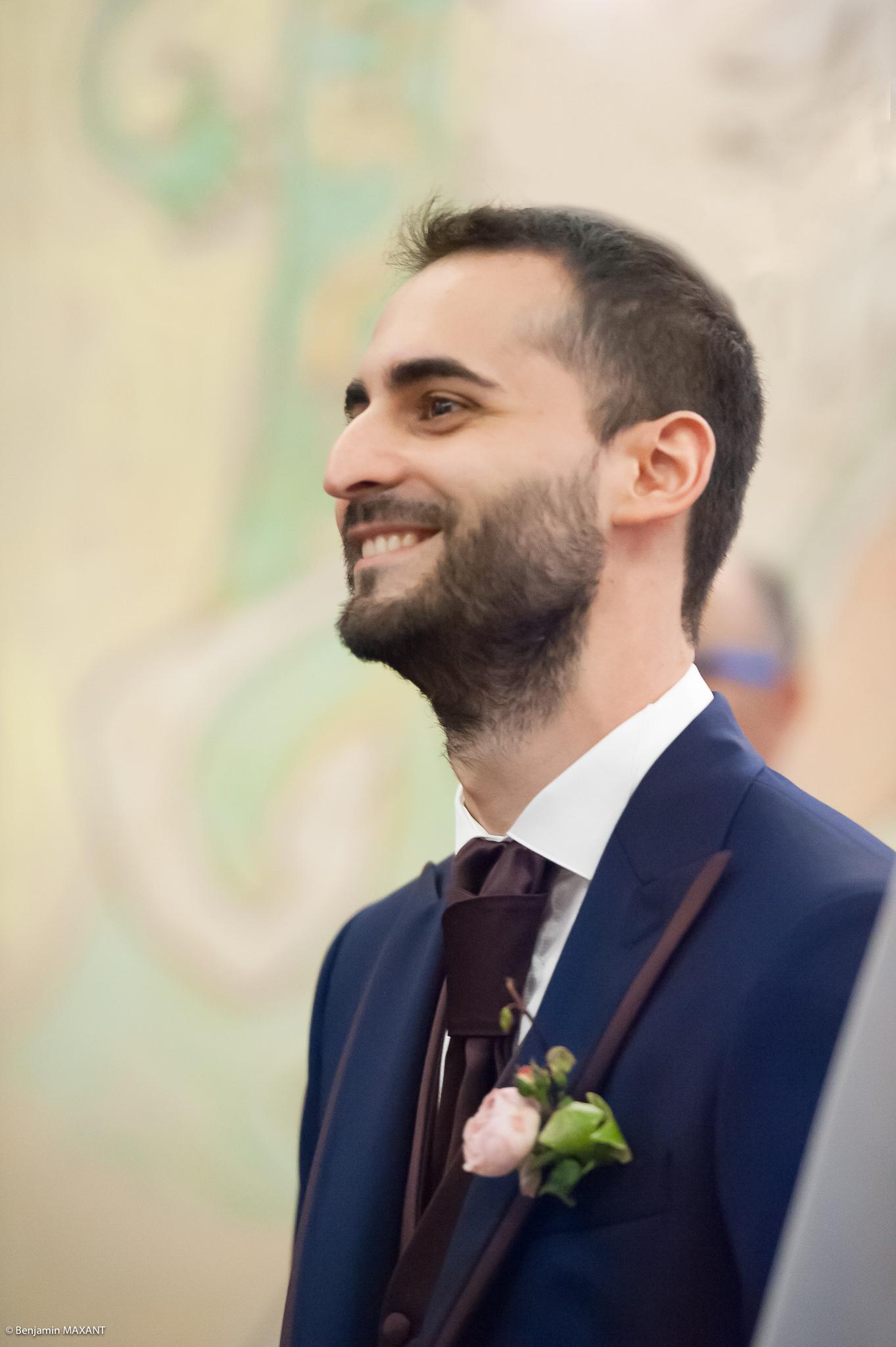 Mariage Valentine et Nicholas - cérémonie civile à la mairie de Menton