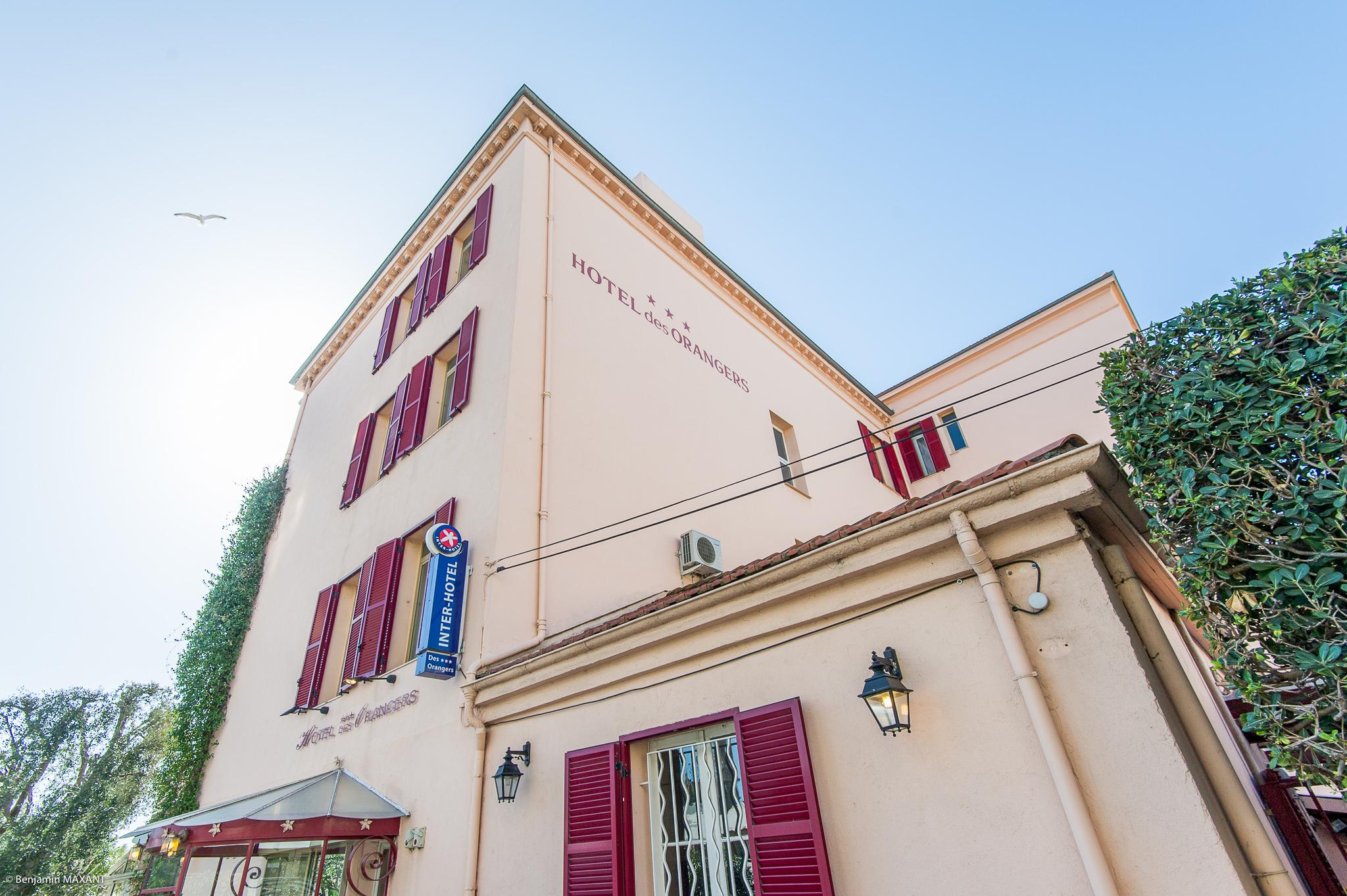 Reportage photo immobilier de l'hôtel des Oranges à Cannes