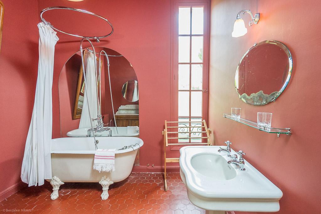 Shooting photos immobilier de villa / maison - salle de bains
