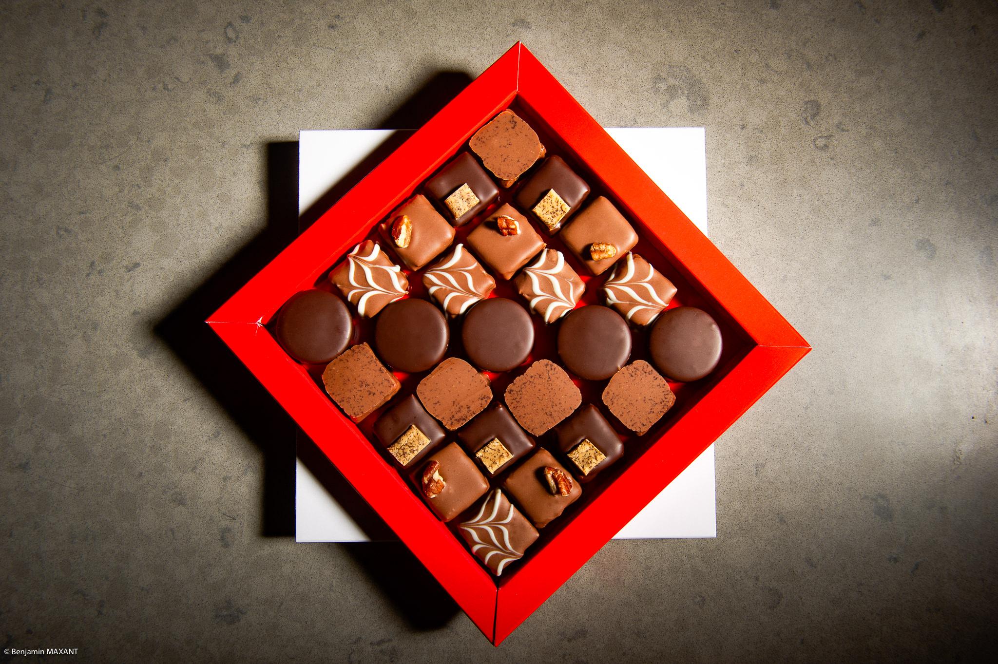 Séance photo culinaire pour VIP Chocolats