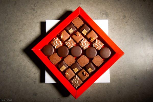 Séance photo culinaire - VIP Chocolats - coffret de Noël 2019