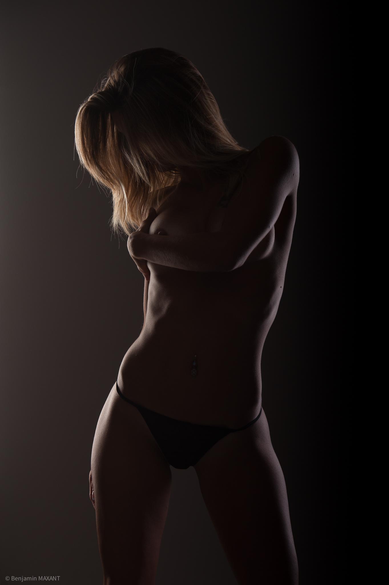 Photographe Séance photo nu en studio