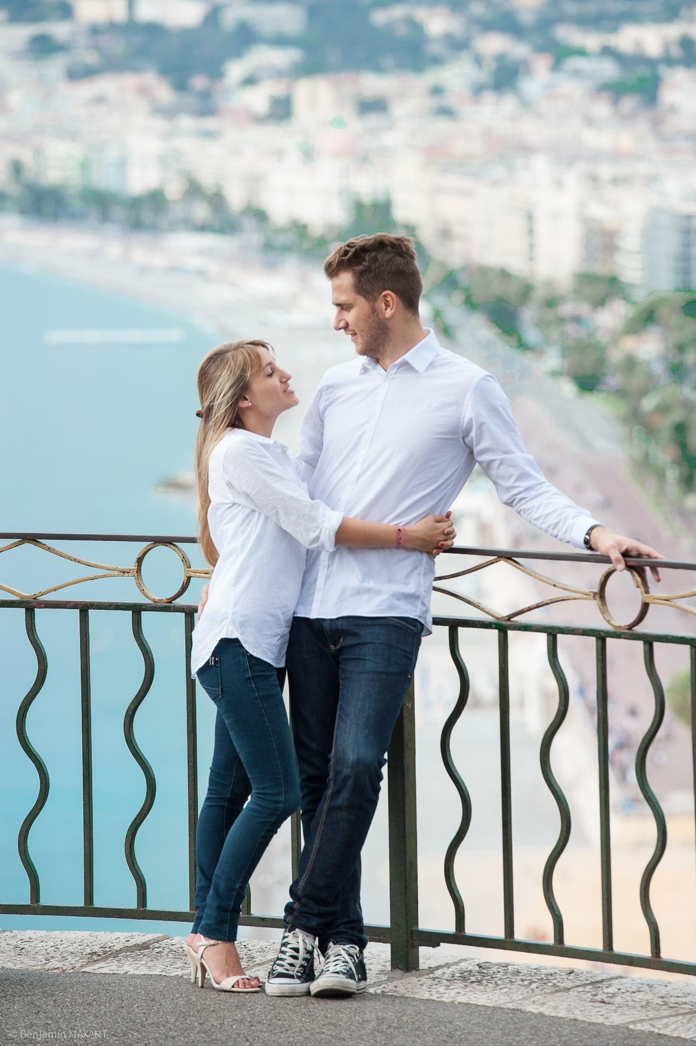 Couple engagement photo shoot