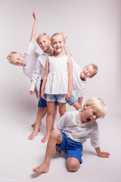 Séance photo famille en studio