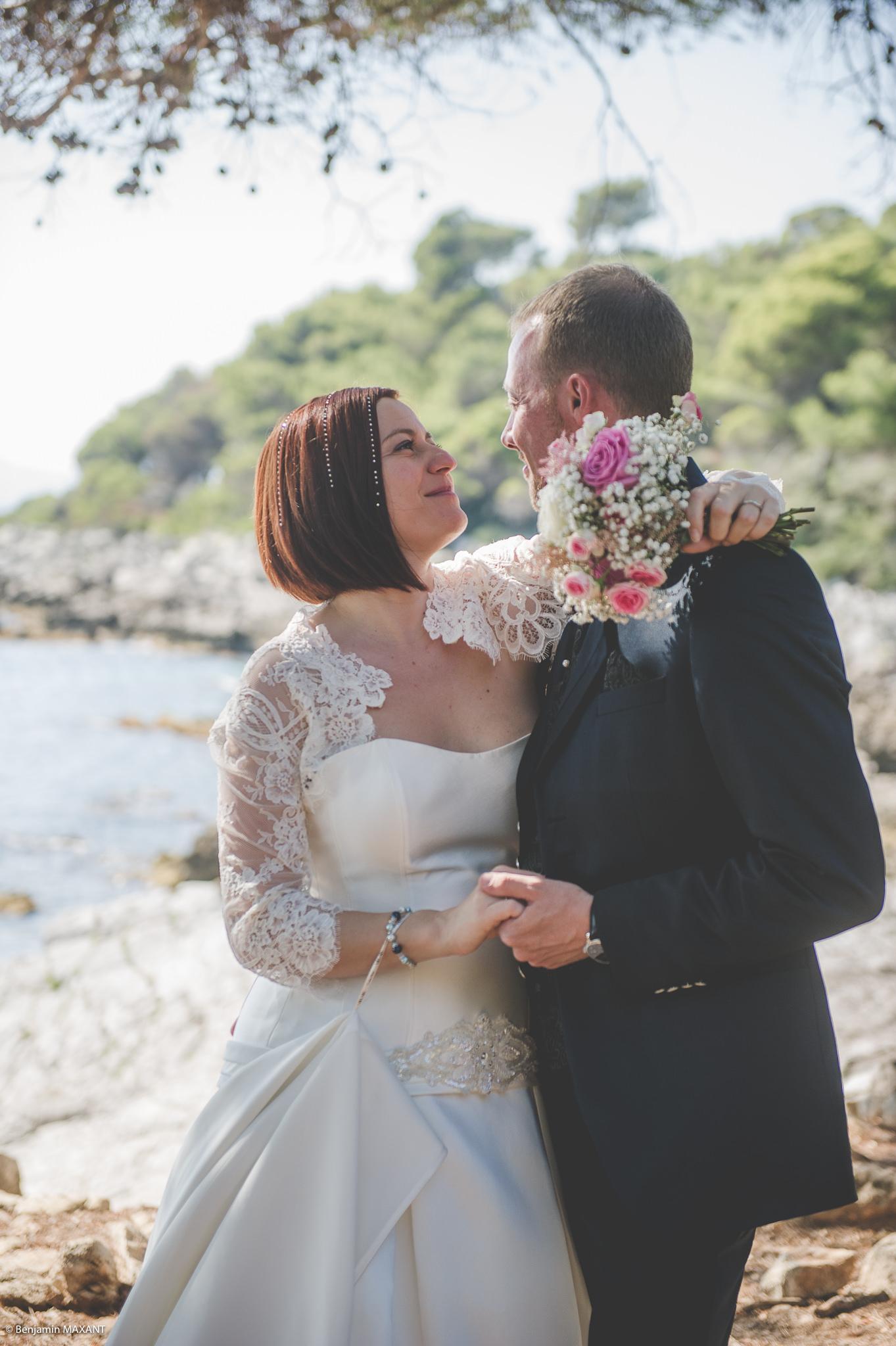 Séance photo engagement avec Sophie et Guillaume à Antibes