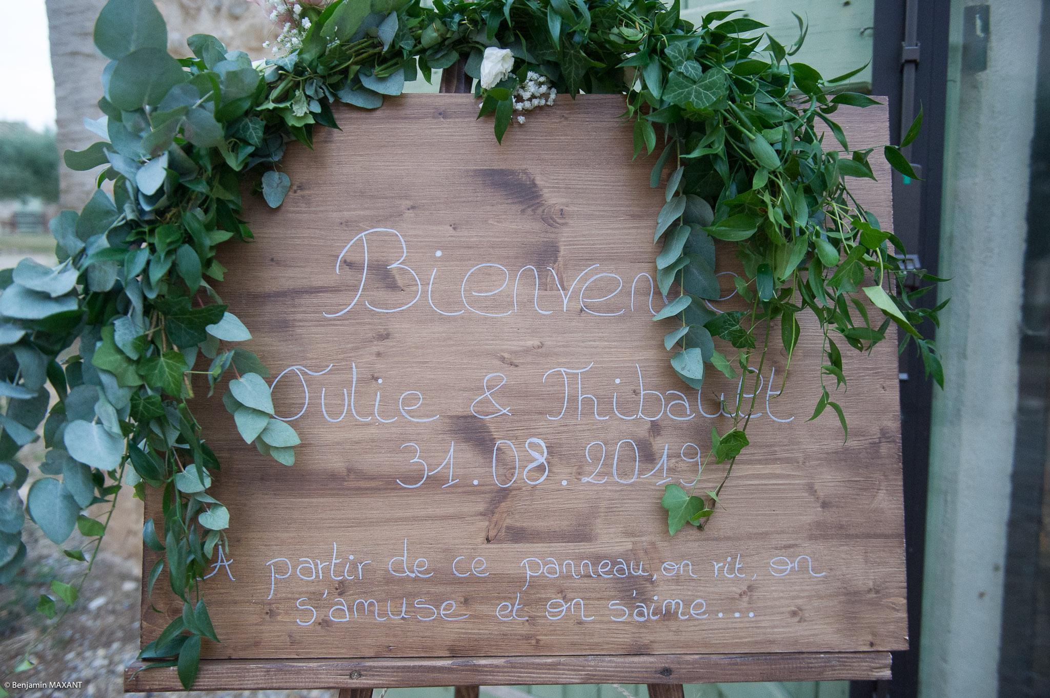 Vin d'honneur au Grand Logisson à Brunet