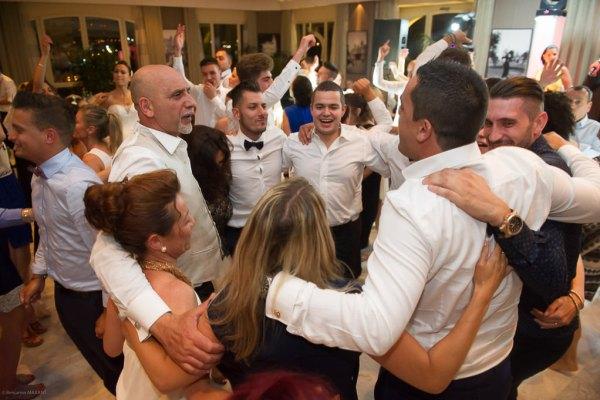 Soirée dansante lors d'un mariage