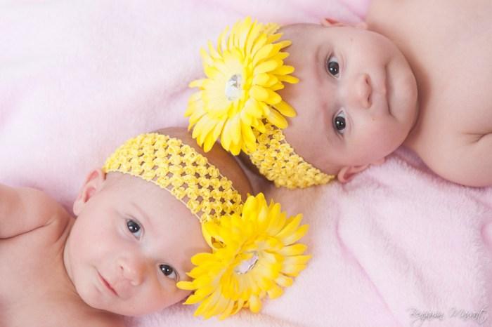 Séance photo bébé jumeaux à domicile