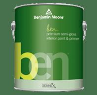 ben Interior Paint- Semi-Gloss