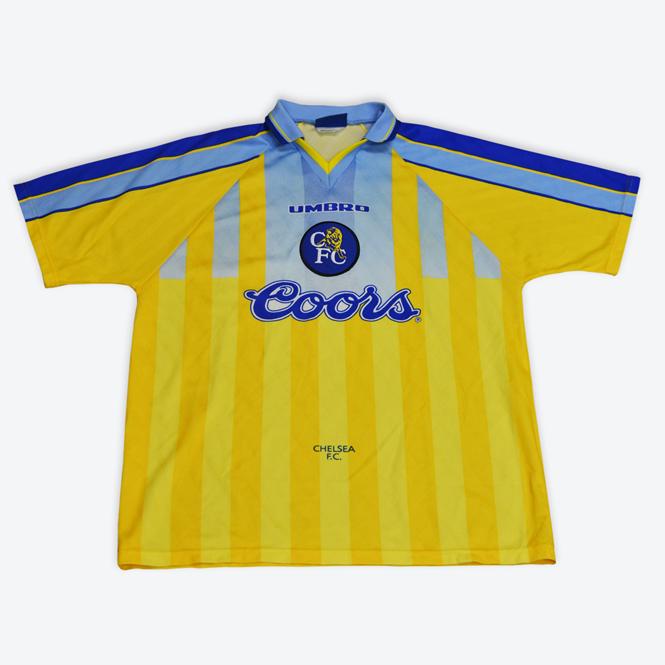 Image result for chelsea away kit 96/97