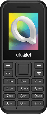 Alcatel 10.66 (Black) at £9.99 on Pay As You Go. Extras: Top-up required: £10.