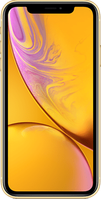 Apple iPhone XR (64GB Yellow) at £100.00 on 4G Essential 500MB (24 Month(s) contract) with UNLIMITED mins; UNLIMITED texts; 500MB of 4G data. £43.00 a month. Extras: EE: Service Pack Benefits.