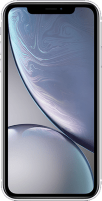 Apple iPhone XR (64GB White) at £100.00 on 4G Essential 500MB (24 Month(s) contract) with UNLIMITED mins; UNLIMITED texts; 500MB of 4G data. £43.00 a month. Extras: EE: Service Pack Benefits.