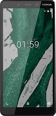 Nokia 1 Plus Dual Sim (8GB Black) at £59.99 on Pay As You Go Data Pack with 500 mins; UNLIMITED texts; 5000MB of 4G data. Extras: Top-up required: £15.