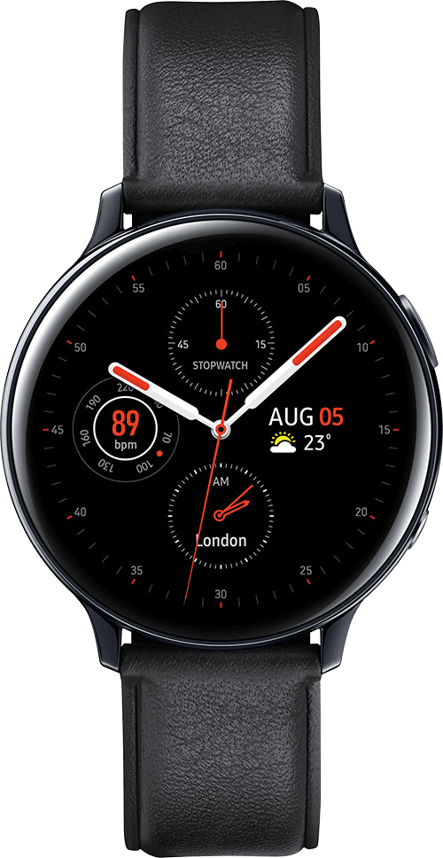 Samsung Galaxy Watch Active2 40mm (Black) on Smartwatch (24 Month(s) contract) with UNLIMITEDMB of 4G data. £20.00 a month.