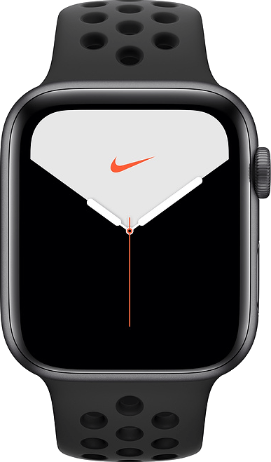 Apple Watch Series 5 Nike+ 44mm (GPS+Cellular) (Space Grey) at £30.00 on Smartwatch (24 Month(s) contract) with UNLIMITEDMB of 4G data. £28.00 a month.