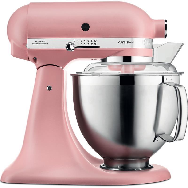 kitchenaid artisan kuchenmaschine 5ksm185psedr altrosa