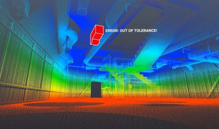 Doxel utilizes AI, Lidar, and Robotics to maintain track of large building projects