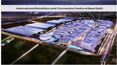 Exhibition and Convention Centre at New Delhi