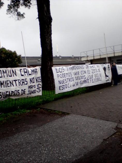 Protesta Gacel | Valeska Belmar